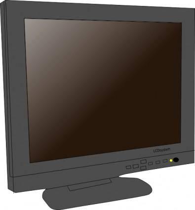 Monitor Lcd clip art