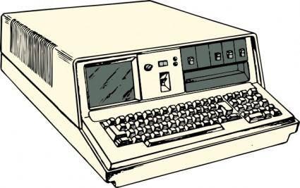 S Era Portable Computer clip art