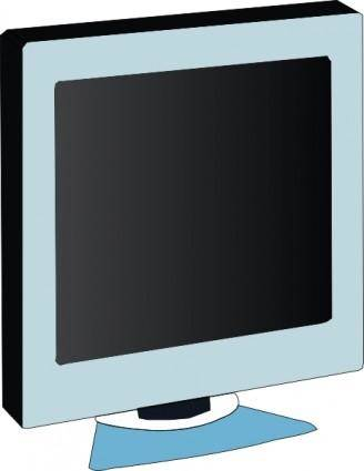 Lcd Flat Panel Monitor clip art