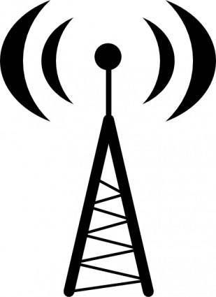 free vector Antena Or Hotspot clip art