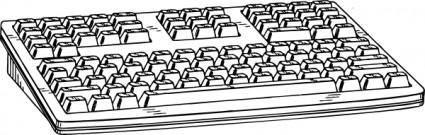 Computer Keyboard clip art