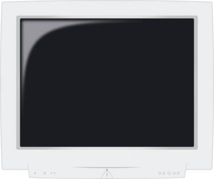 free vector Crt Monitor clip art