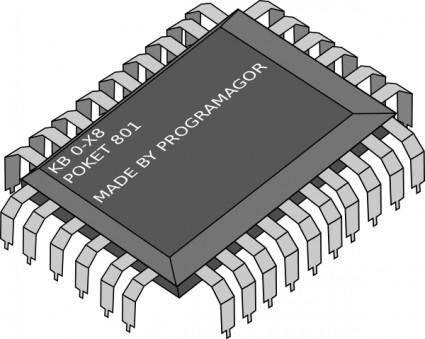 Chip clip art