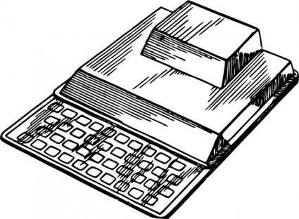 Sinclair Zx80 clip art
