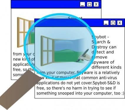free vector Spybot clip art