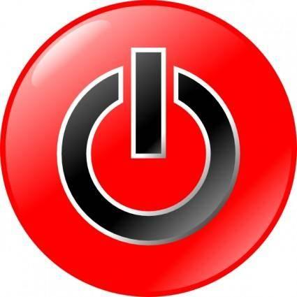 free vector Power Button clip art