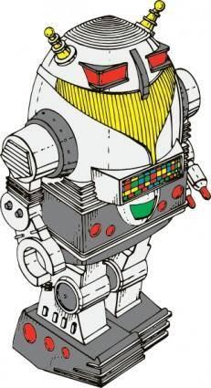 free vector Toy Robot clip art