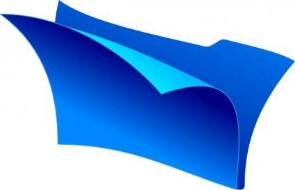 Empty Folder clip art