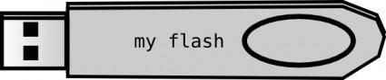 free vector Usb Flash Disk clip art