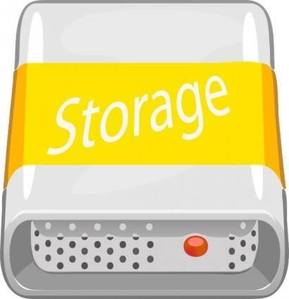 free vector Storage Disc clip art