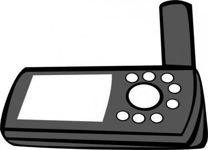 free vector Handheld Gps clip art