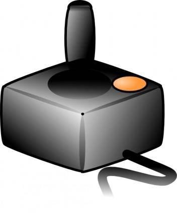 Joystick Atari Style clip art
