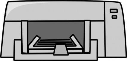 free vector Inkjet Printer clip art