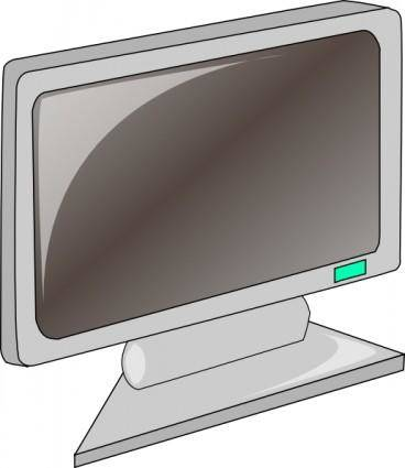 free vector Lcd Flat Panel clip art