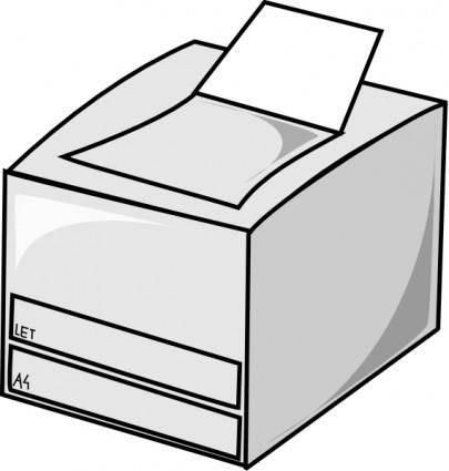 Laser Printer clip art
