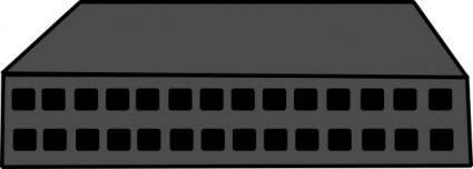 Network Hub clip art