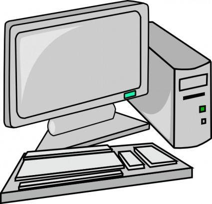 free vector Desktop Pc clip art