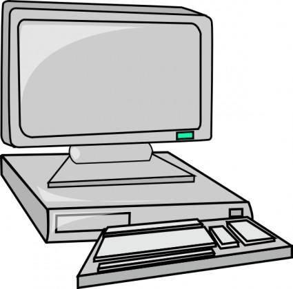 Desktop Computer clip art