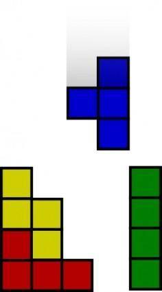 free vector Tetris clip art