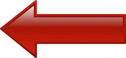 Arrow-left-red clip art
