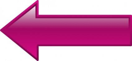 free vector Arrow-left-purple clip art