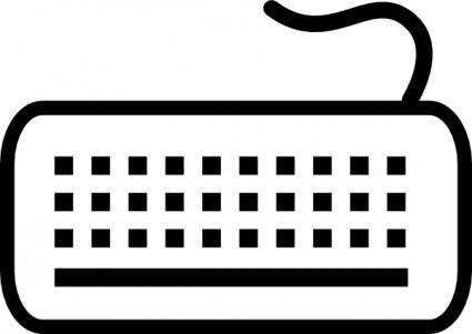free vector Keyboard clip art