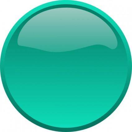 free vector Button-seagreen clip art