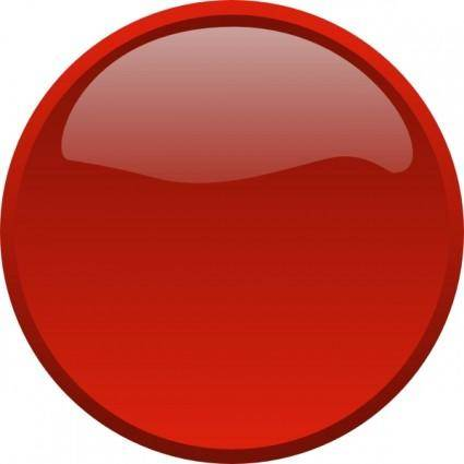 Button-red clip art