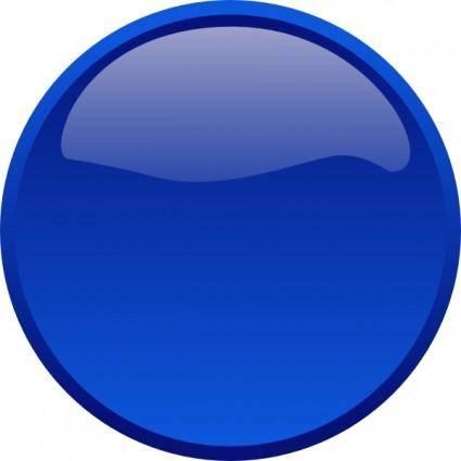 Button-blue clip art