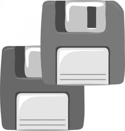Floppy Diskette clip art