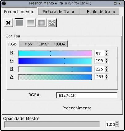 free vector Color Chooser Window clip art