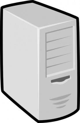 Server Linux Box clip art