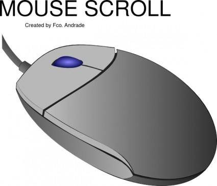 Mouse Scroll clip art