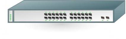 Switch Cisco 3750 clip art