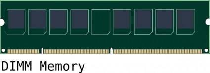 Dimm Memory clip art