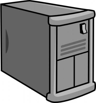 Web Virtualization Server clip art