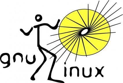 free vector Gnu/linux Disco Dance clip art