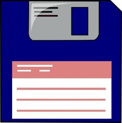 free vector Floppy Disk clip art