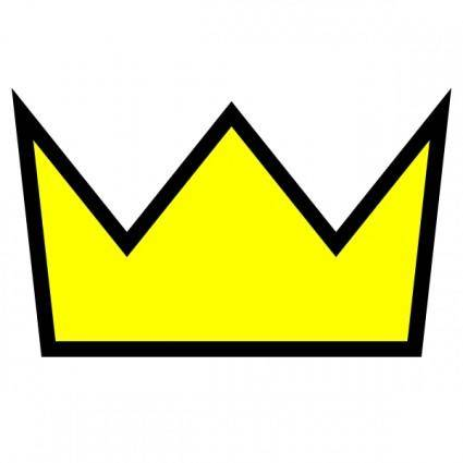 Clothing King Crown Icon clip art