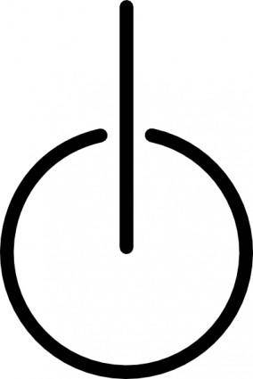 Power Symbol clip art