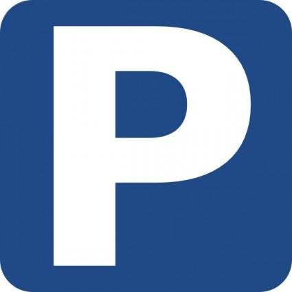 Parking Available Sign clip art
