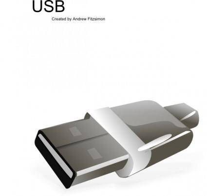 Usb Plug clip art