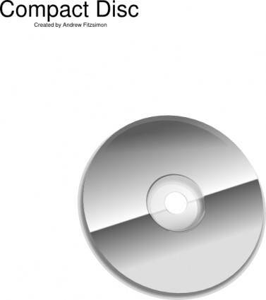 Cd Rom Disc clip art