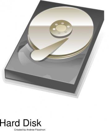 Hard Disk clip art
