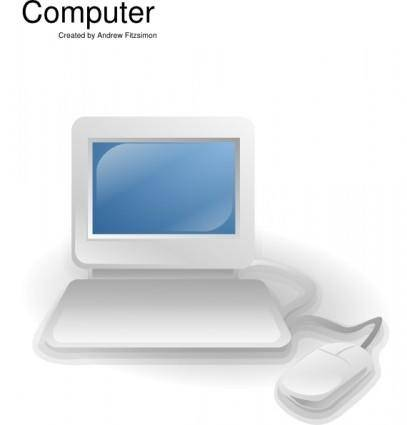 free vector Computer clip art