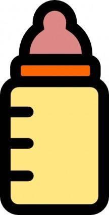 Baby Bottle Icon clip art