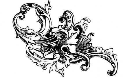 free vector Baroque Ornament Vectors Vol1