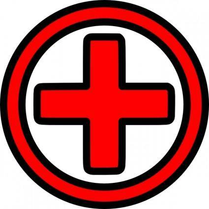 First Aid Icon clip art