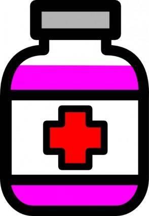 free vector Medicine Icon clip art