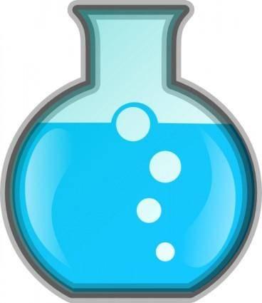 free vector Flask Icon clip art